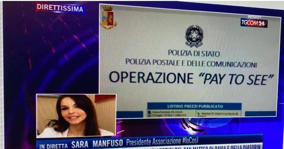 La Presidente Sara Manfuso a TGCOM24 sull'operazione della Polizia Postale a contrasto della pedopornografia