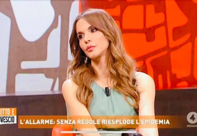 La Presidente Sara Manfuso a Dritto e Rovescio su Ret4 su Covid19