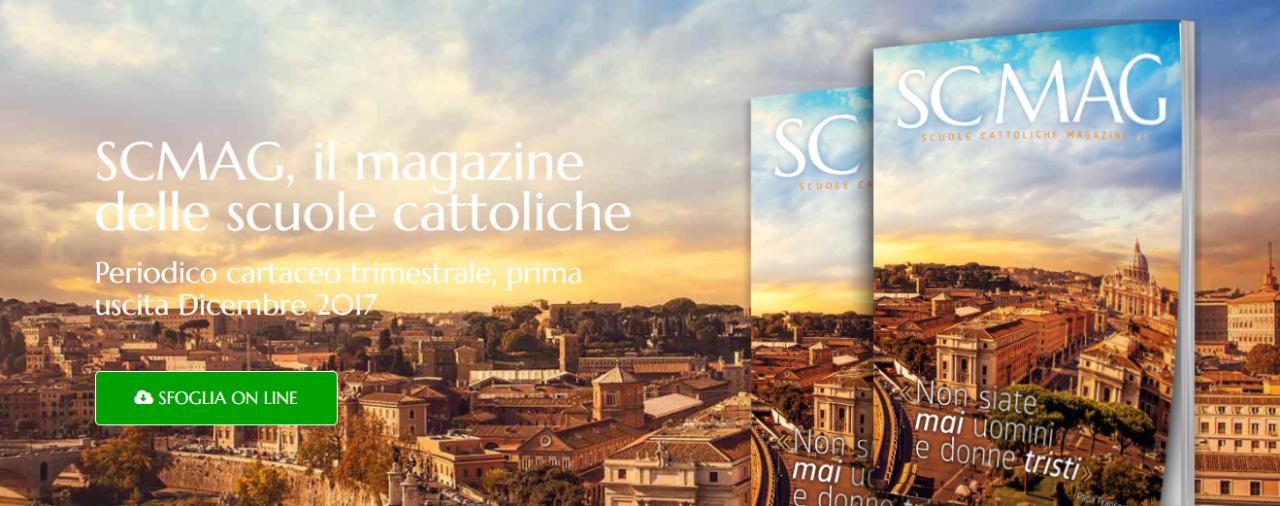 """Su """"Scuole Cattoliche Magazine"""", l'associazione #IoCosì"""