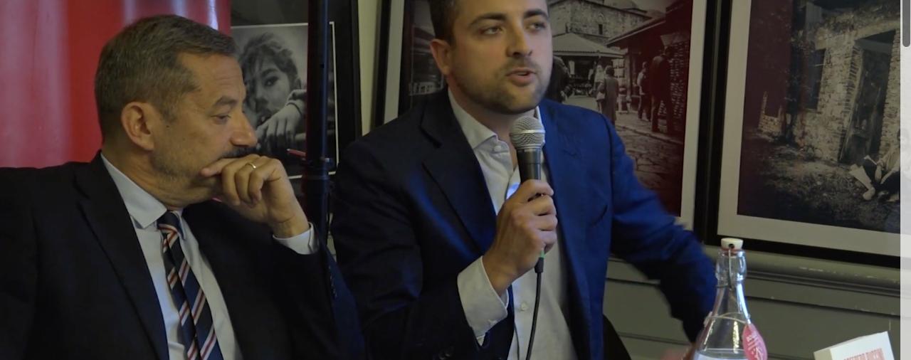 """Marco Furfaro (Futura) alla alla presentazione del libro di Goffredo Buccini """"Ghetti"""""""