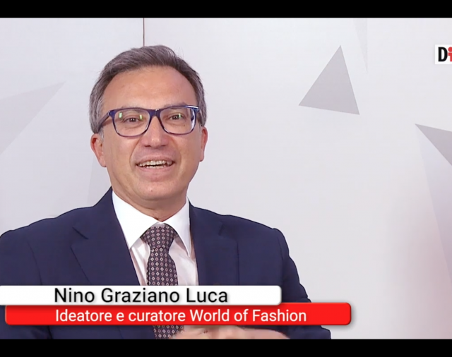 Nino Graziano Luca, ideatore del World of Fashion, sulle ragioni del Premio conferito alla Presidente di #IoCosì Sara Manfuso