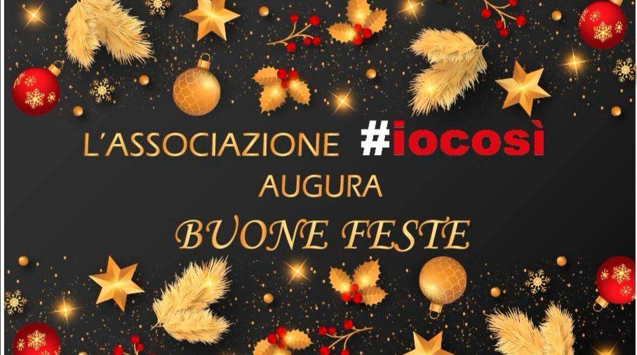 L'Associazione #iocosì augura Buone Feste