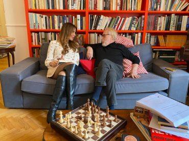 Dialogo Sara Manfuso e Paolo Guzzanti su amore, sesso e terza età